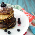 Banana Pancakes for One | Plaid and Paleo