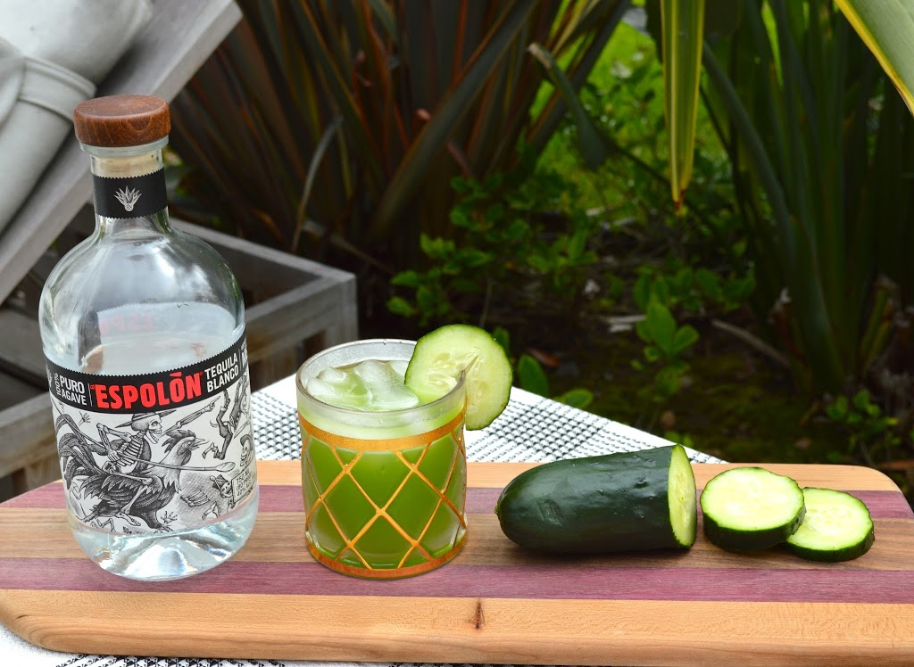 Cucumber Refresher | Plaid and Paleo