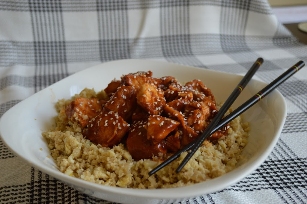 Paleo Fried Rice and AAG Orange Chicken