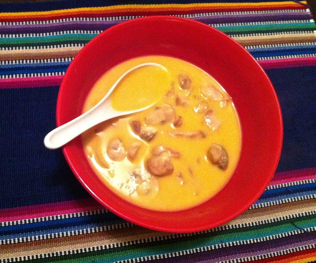 Paleo Tom Kha Gai Soup