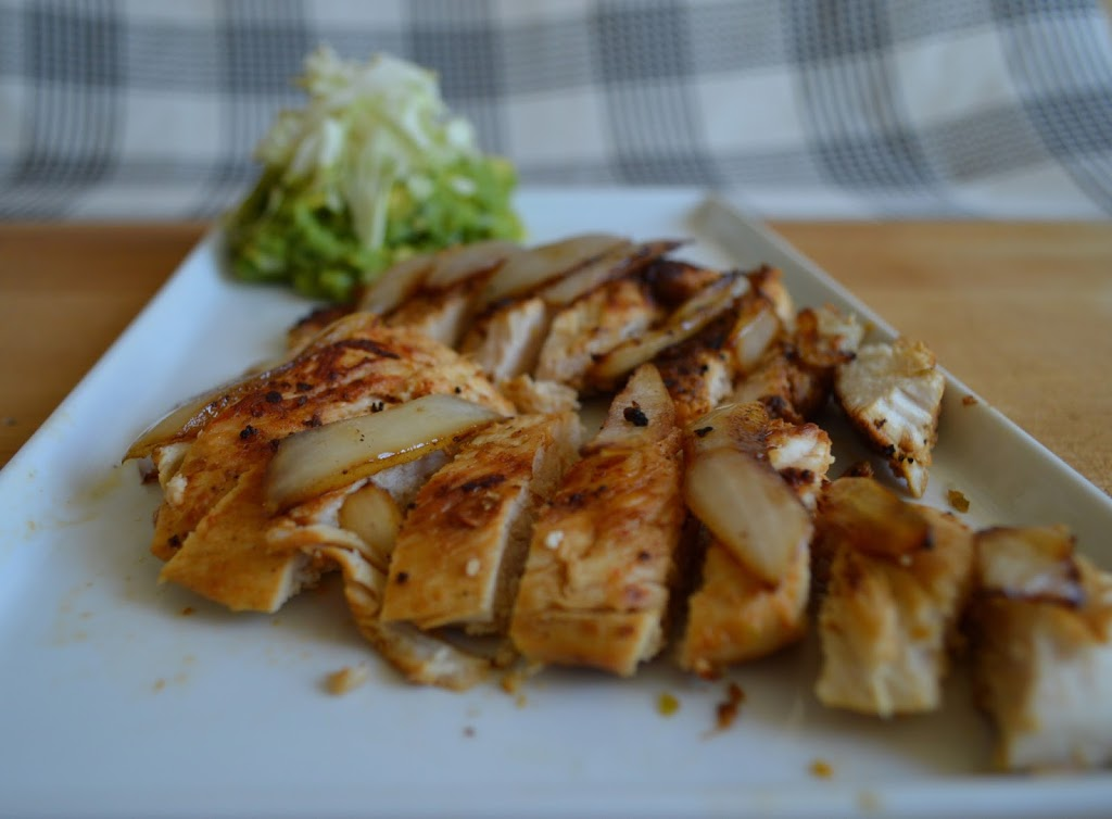 Fajita Chicken with Avocado Slaw   Plaid and Paleo