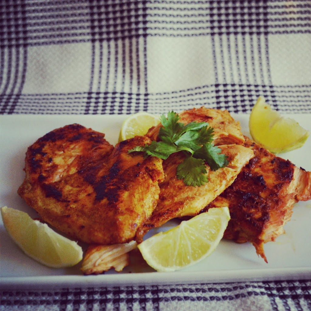 Curry Lime Chicken | Plaid and Paleo