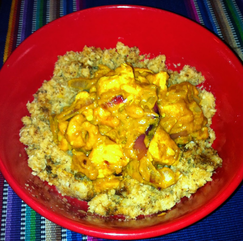Paleo Pumpkin Cashew Chicken