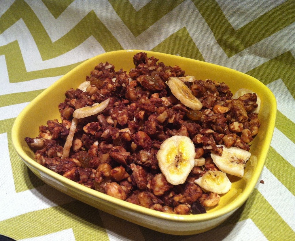 Chocolate Chip Banana Granola