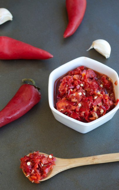 Chili Garlic Sauce | Plaid and Paleo