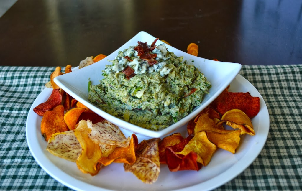 Primal Bacon Blue Cheese Spin Dip | Plaid and Paleo