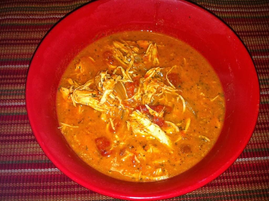 Crockpot Chicken Tomato Soup