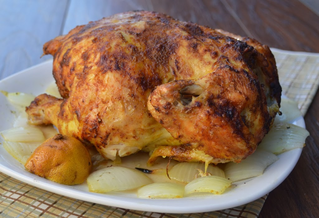 Indian Spiced Roasted Chicken | Plaid and Paleo