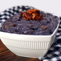Loaded Mashed Purple Sweet Potatoes | Plaid and Paleo