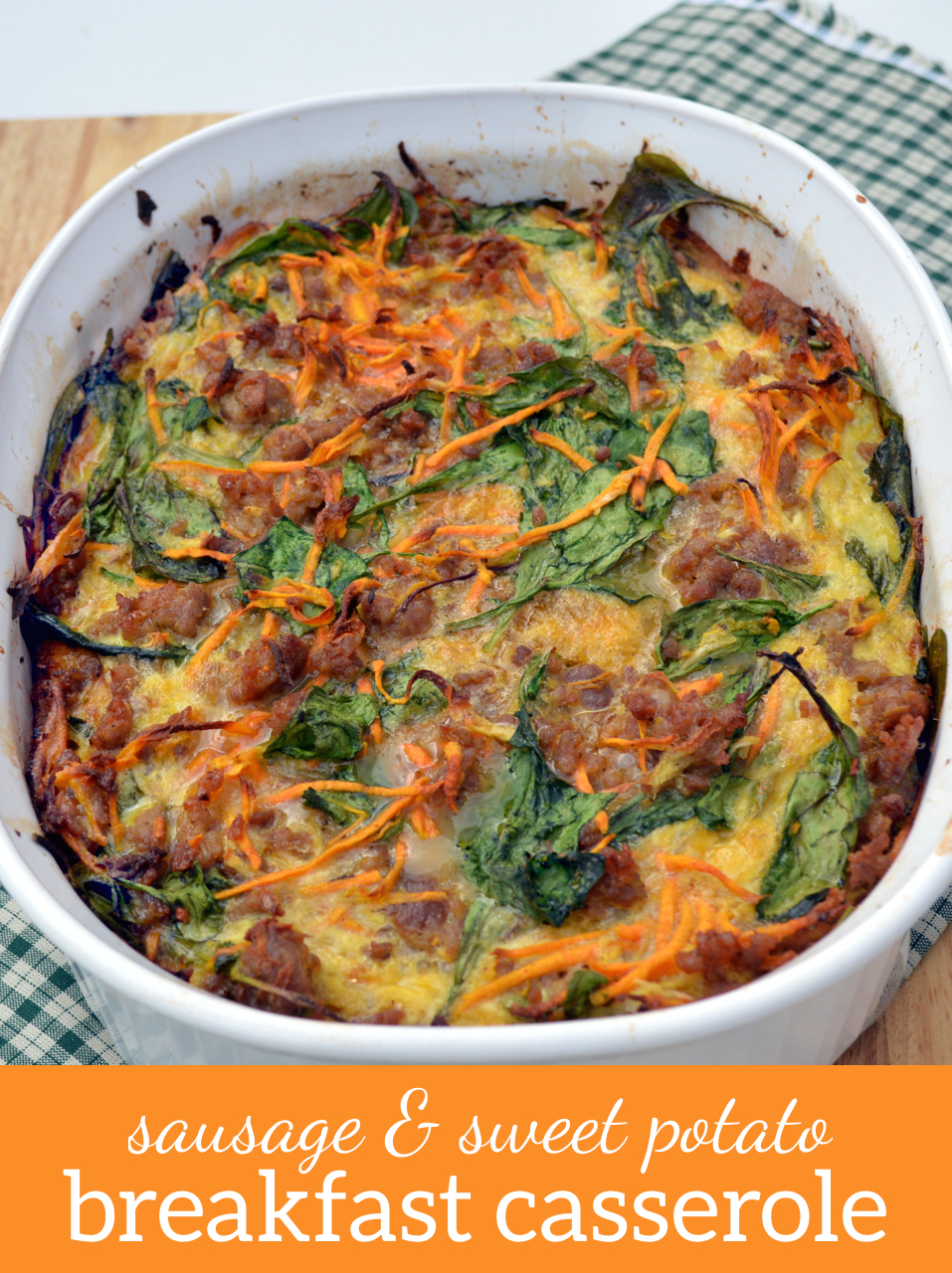 ... potato sausage and spinach breakfast casserole potato sausage and