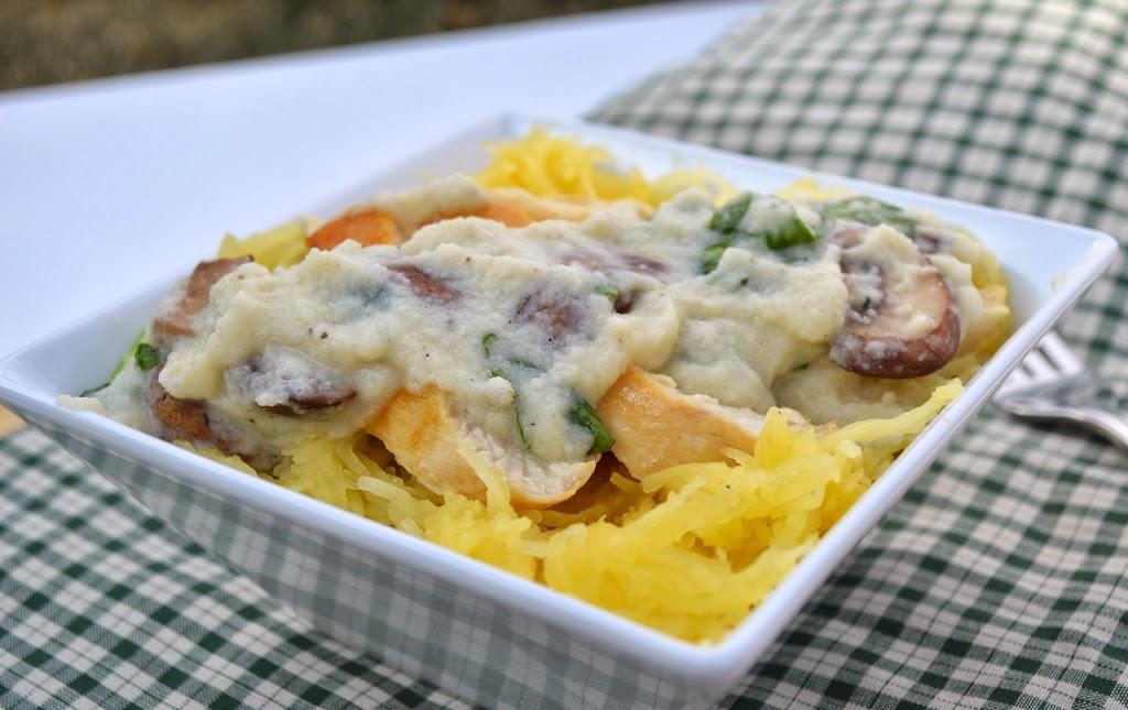 Paleo Creamy Chicken Pasta