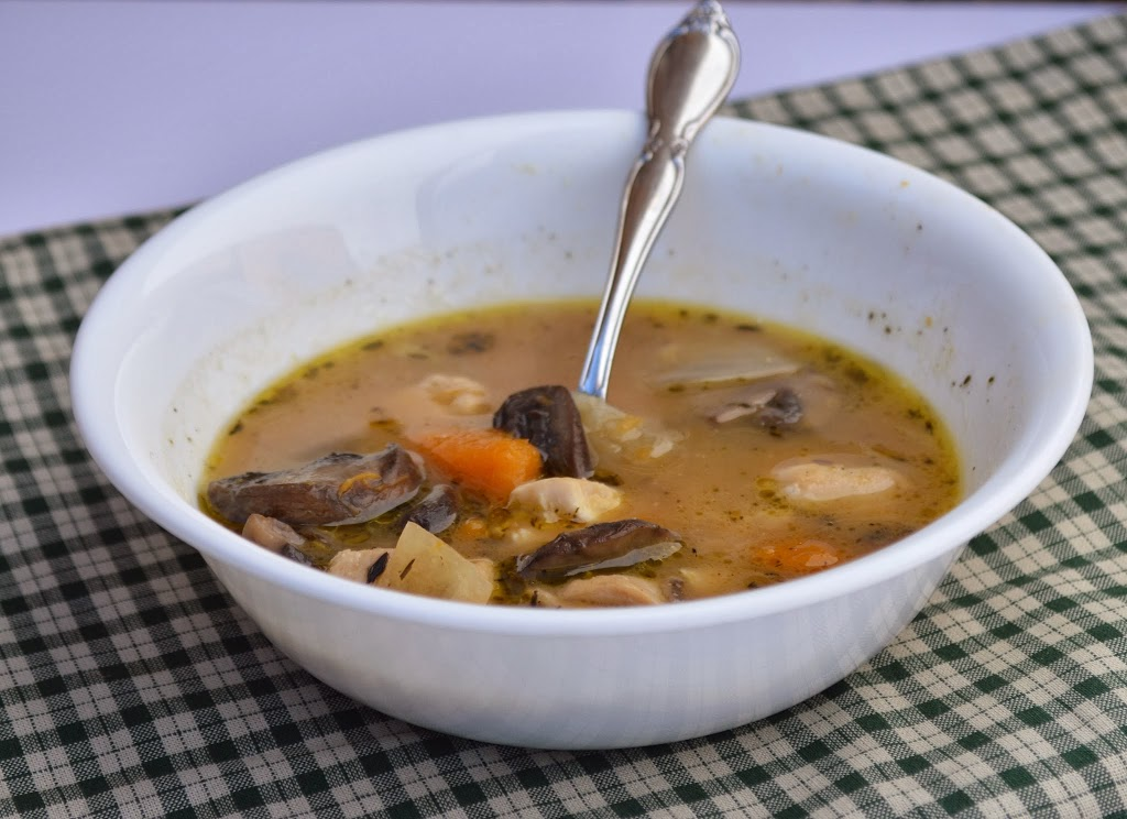 Paleo Chicken, Squash and Mushroom Stew   Plaid and Paleo