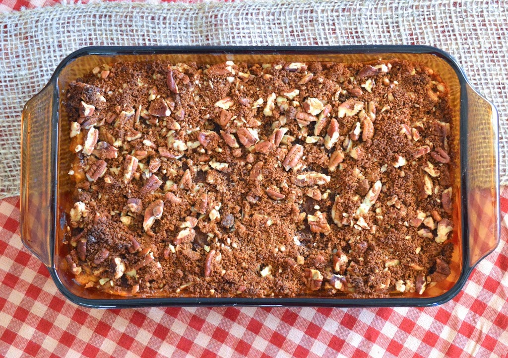 Sweet Potato Casserole | Plaid and Paleo