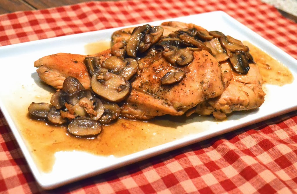 Paleo Chicken Marsala