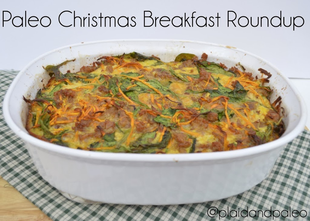 Christmas Breakfast Roundup | Plaid and Paleo