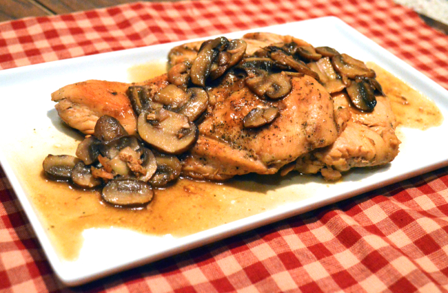 Chicken Marsala | Plaid and Paleo