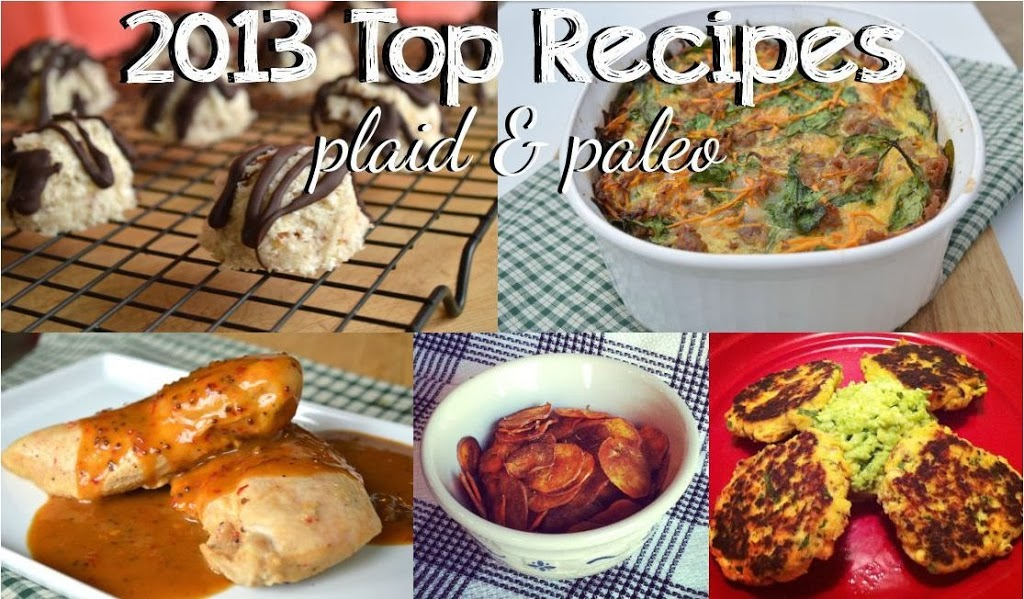 Plaid & Paleo 2013 Top Recipes