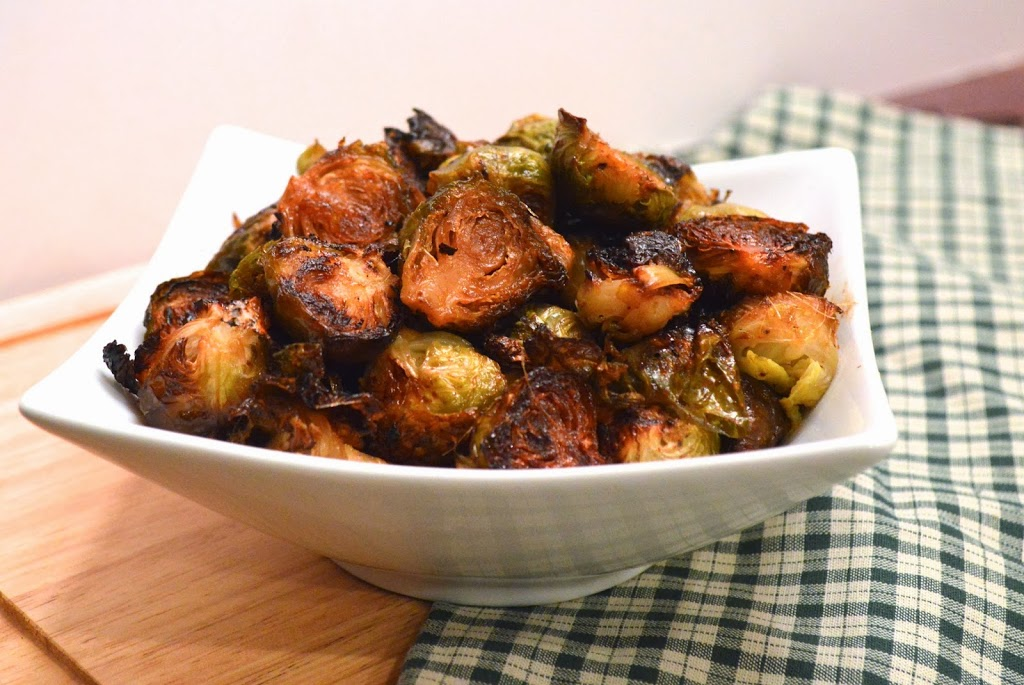 Umami Brussels Sprouts | Plaid and Paleo