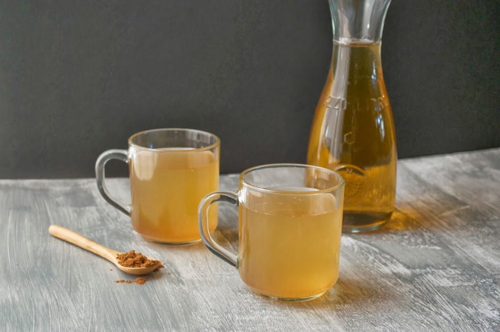 Cinnamon Apple Kombucha | Plaid and Paleo