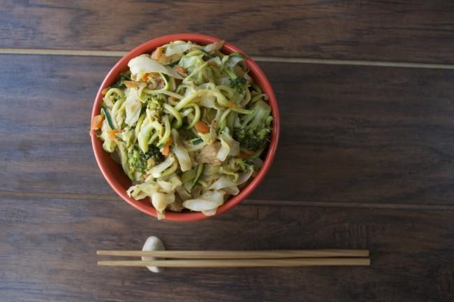 Chow Mein | Plaid & Paleo #paleo