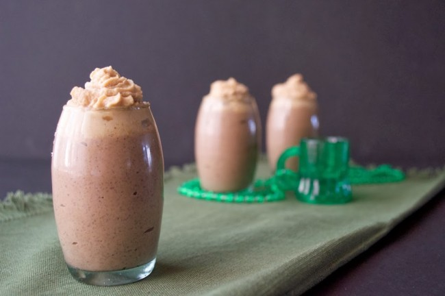 Irish Cream Mocha Pudding | Plaid and Paleo