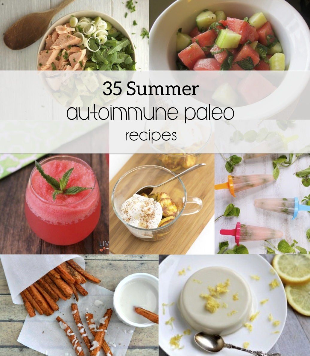 35 Summer Autoimmune Paleo Recipes