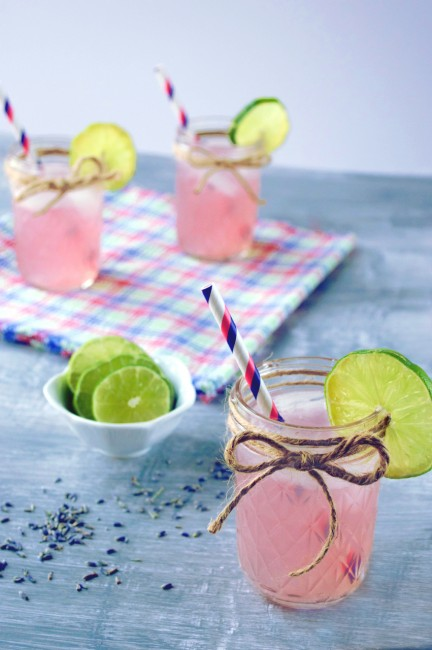 Lavender Limeade | Plaid and Paleo
