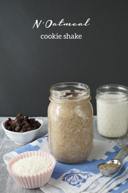 N'Oatmeal Cookie Shake | Plaid & Paleo