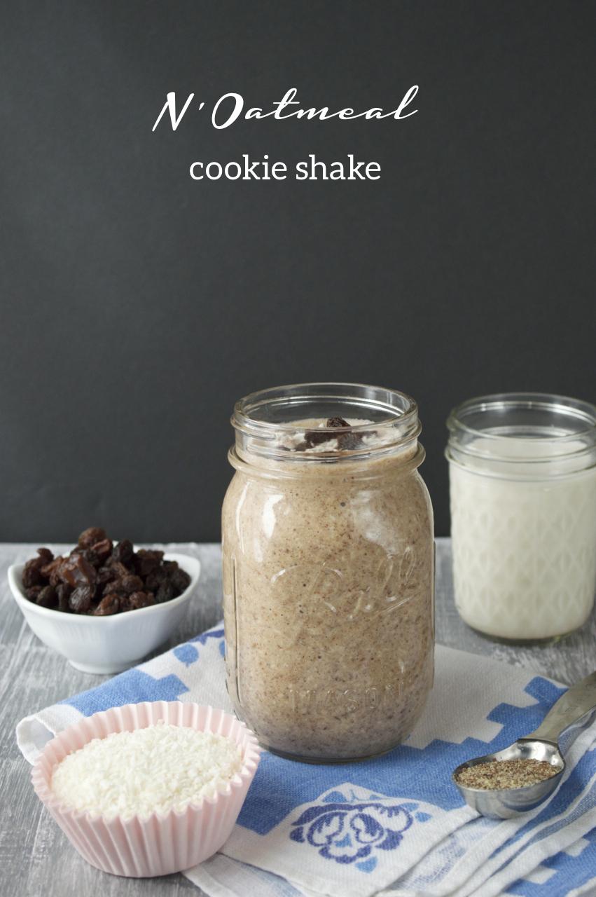 N'Oatmeal Cookie Shake