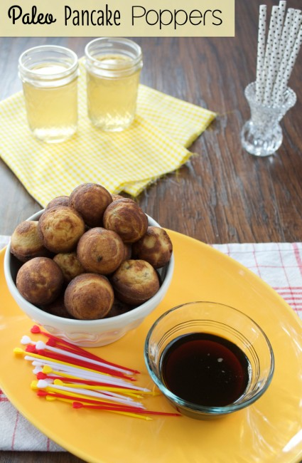 Paleo Pancake Poppers | Plaid and Paleo