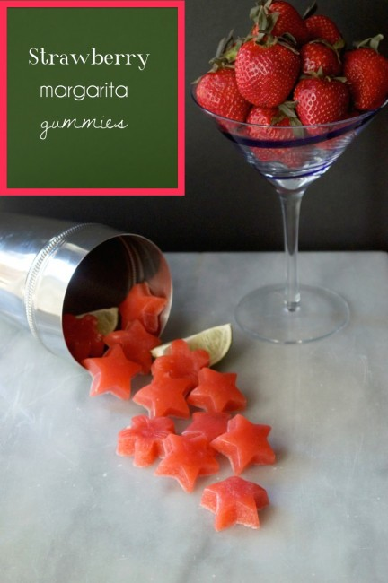 Strawberry Margarita Gummies | Plaid & Paleo