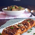 Creole Salmon Cakes | Plaid and Paleo