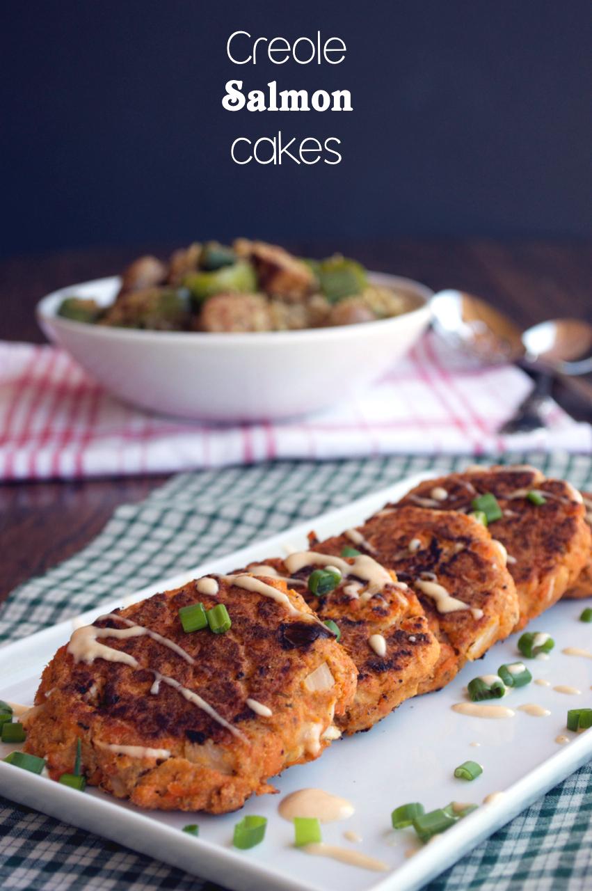 Creole Salmon Cakes