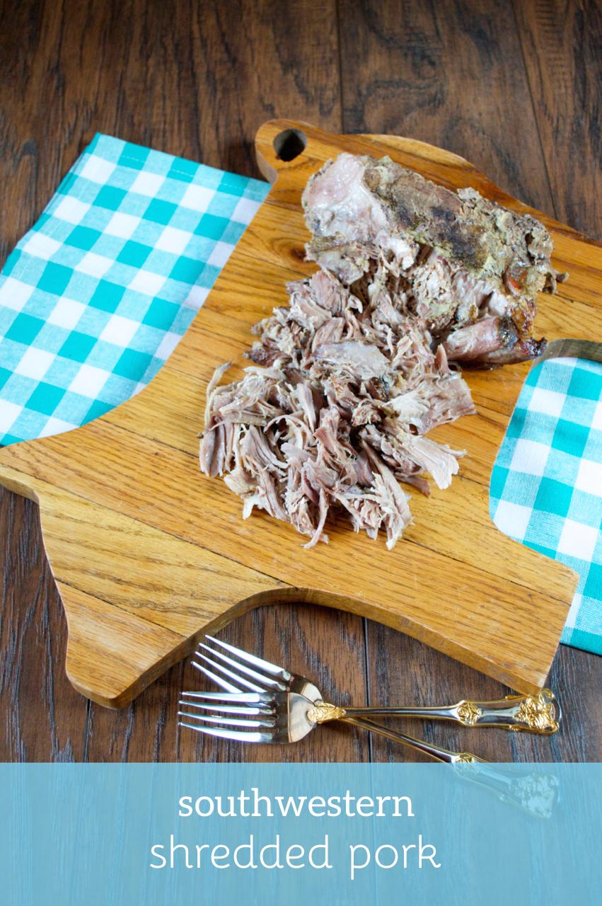 Southwestern Shredded Pork