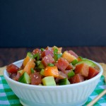 Summer Ahi Tuna Salad | Plaid and Paleo