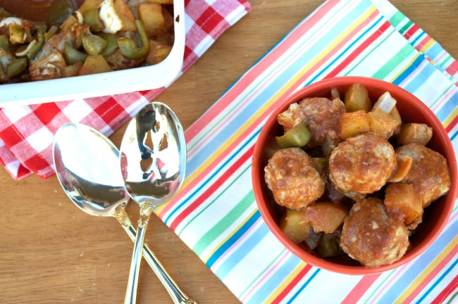 Sweet n' Sour Meatballs | Plaid and Paleo