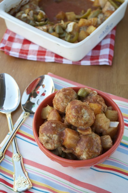 Sweet and Sour Meatballs | Plaid and Paleo