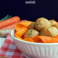 Carrot Ginger Meatballs | Plaid and Paleo