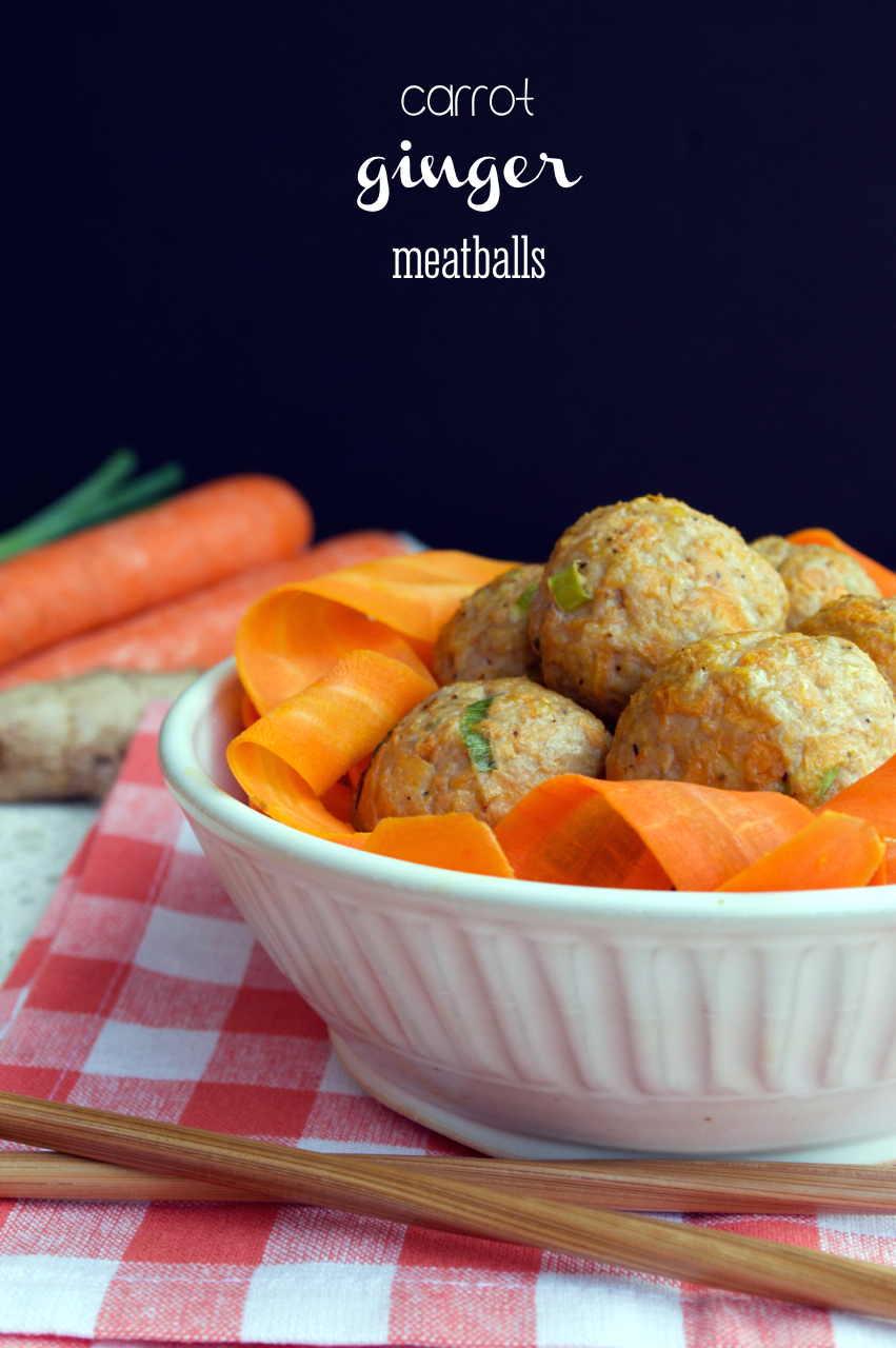 Carrot Ginger Meatballs