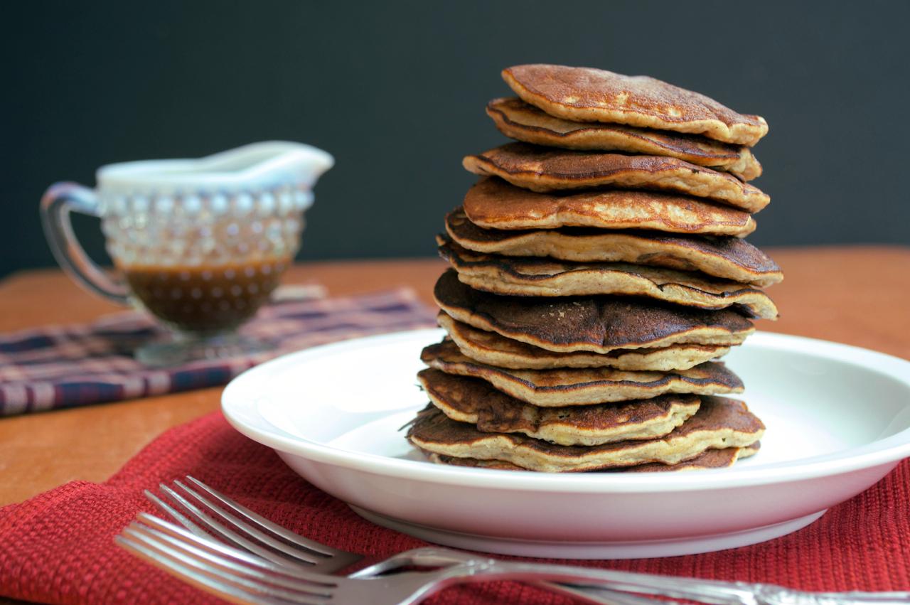 Grain-free Elvis Pancakes | Plaid and Paleo