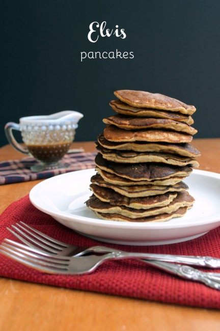 Grain-free Elvis Pancakes | Plaid and Paleo