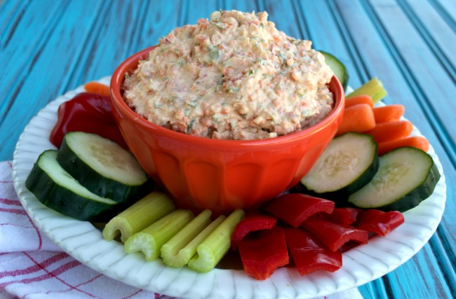 Dairy-free Veggie Dip | Plaid and Paleo