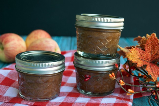 Crockpot Apple Butter | Plaid and Paleo