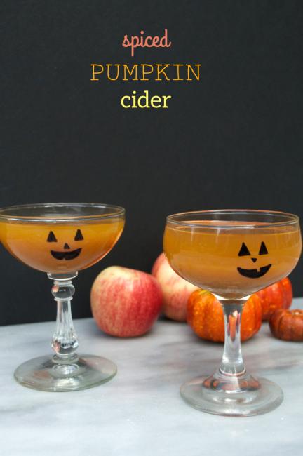 Spiced Pumpkin Cider | Plaid and Paleo