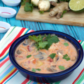 Crockpot Tom Kha Yum Soup | Plaid and Paleo