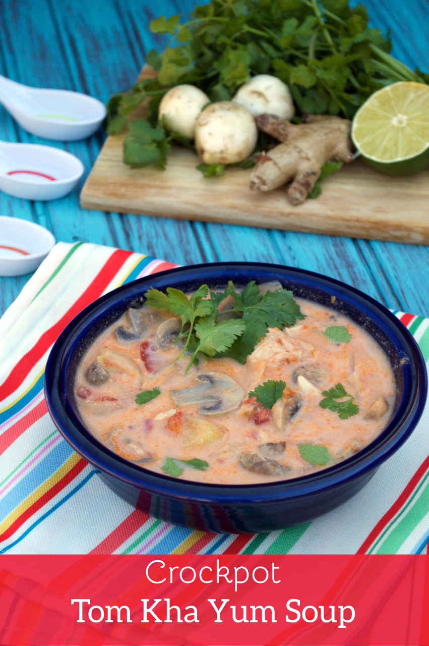 Crockpot Tom Kha Yum Soup