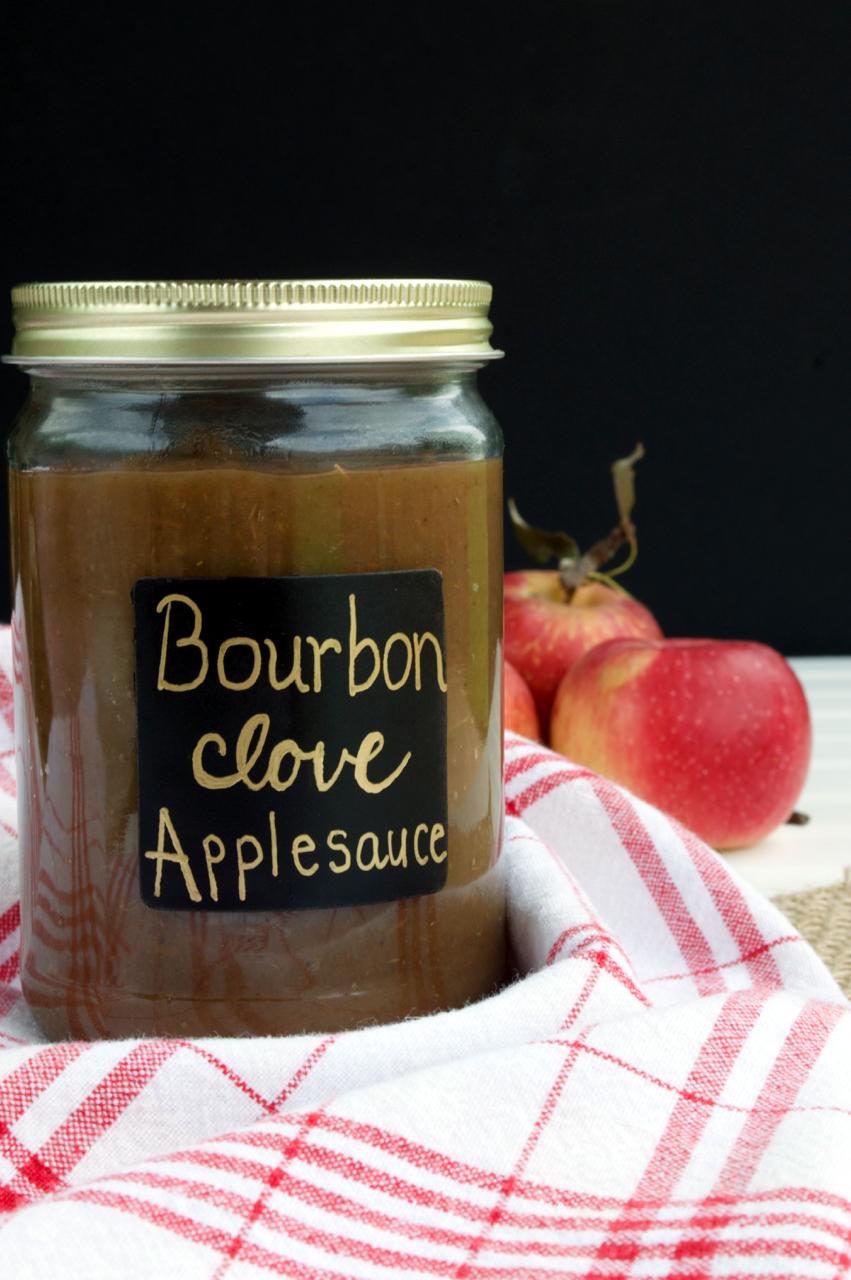 Bourbon Clove Applesauce
