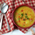 "Dairy-free ""Cheesy"" Potato Soup 
