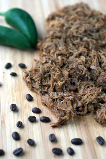 Chipotle Coffee Pulled Pork | Plaid and Paleo