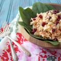 Pomegranate Chicken Salad | Plaid and Paleo